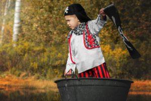 Piraat kindershoot jongen jarig