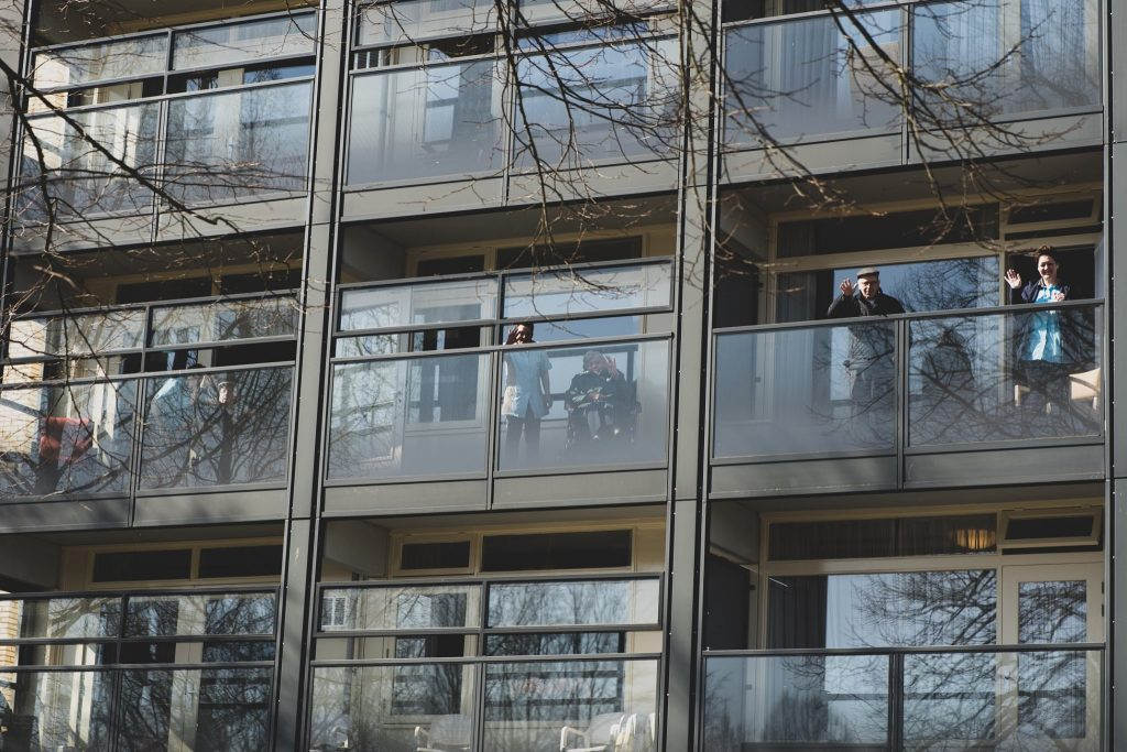 Carint Reggeland huis Humanitas, Convid19, Hengelo