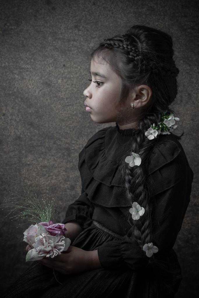 Fine Art, Portret, Hengelo, Manon Moller Fotografie, Fotograaf, Twente, Overijssel, Studio, sprookjesfoto, sprookje, prinses.